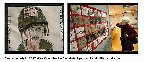 Quilt Photos at VA in Seattle