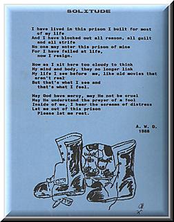 Solitude PTSD Poem