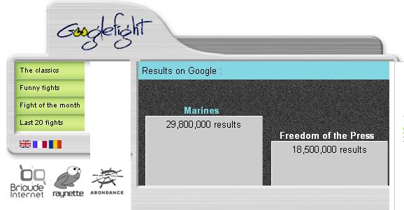 Marines v Freedom of the Press