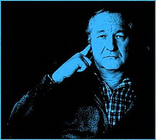 William Styron Hand to Head Blue