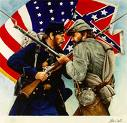 Civil War Both Sides Fighting