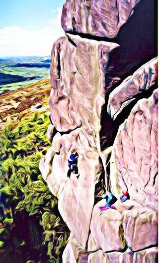 BeFunky Mountain Climbing