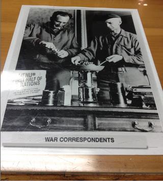 Ernie Pyle War Correspondents Photo
