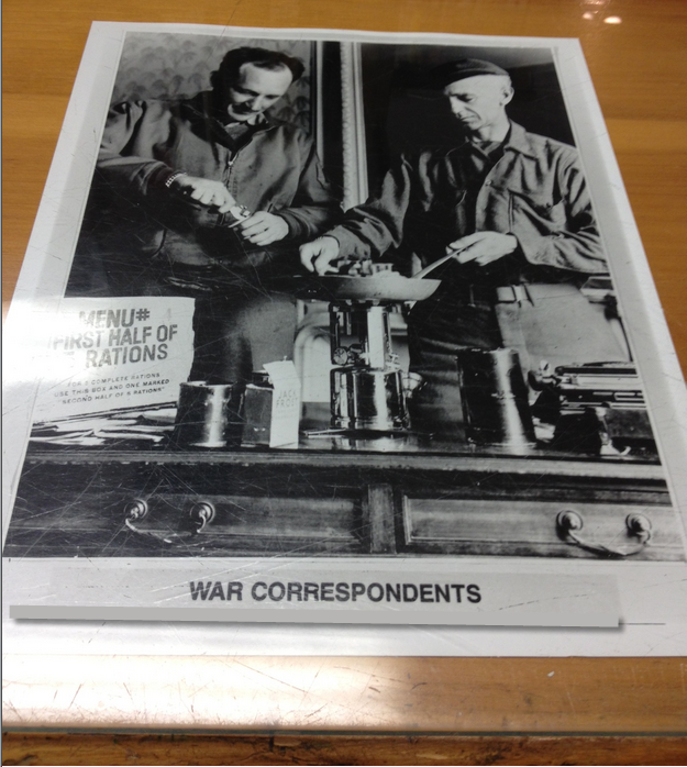 Ernie Pyle War Correspondents Photo